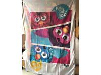 Furby single duvet cover and pillowcase