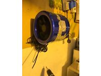 """Cheshunt Hydroponics Store - used 8"""" Hyperfan with speed controller"""