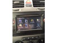 Car sat Nav hands free DVD radio