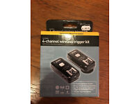 Nikon Pro Series 4 channel wireless trigger