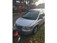 2007 Chrysler Grand Voyager 2.8CRD AUTOMATIC 7 SEAT DIESEL SILVER