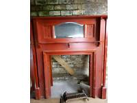 Victorian Design Overmantle fireplace