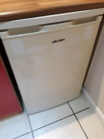 BUSH UNDER COUNTER FRIDGE / FREEZER - GOOD WORKING ORDER