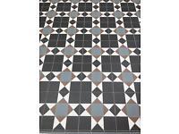 *New. Unused * Victorian Floor Tiles