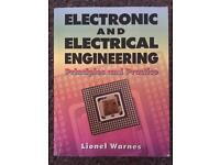 Electronic and electrical engineering principles and practise