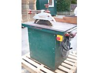 Cooksley Saw Bench, machine in good working order must be seen.