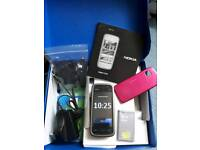 Nokia 5230 with box, charger, batteries