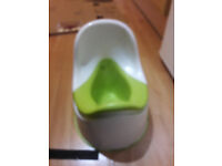 Ikea childrens potty green white for free