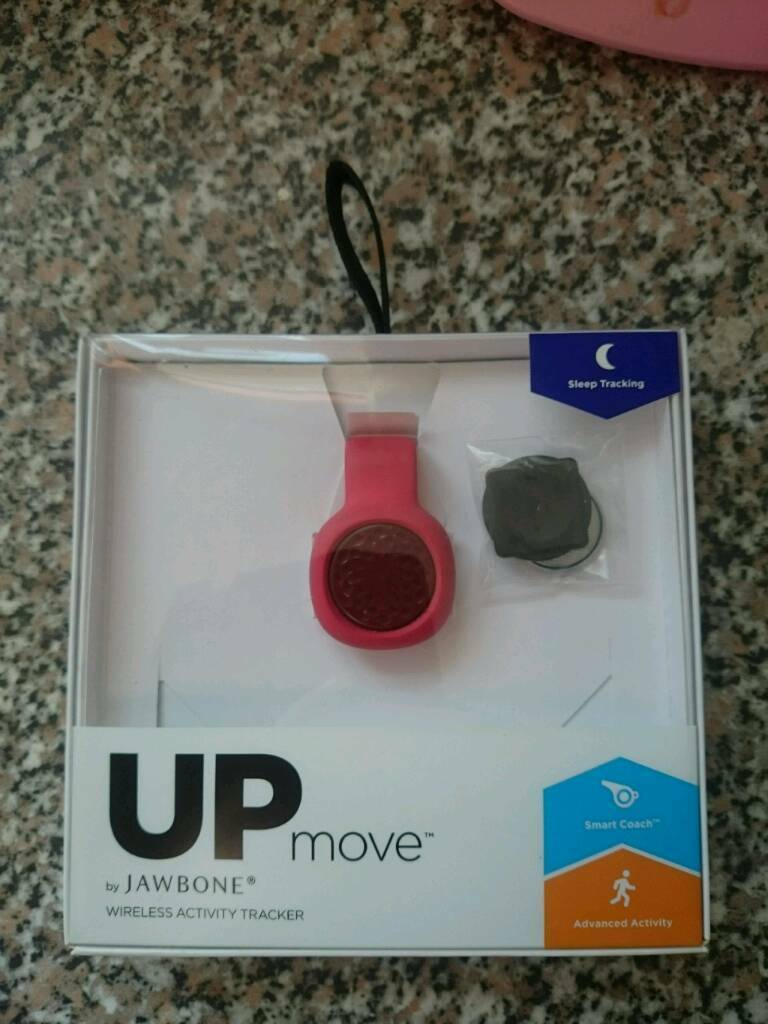 Jawbone up move fitness trackerin Stoke on Trent, StaffordshireGumtree - Jawbone up move used but in good working condition comes with a clip & wristband so that you can clip it onto your clothes or wear it on your wrist, the wristband is unused Collection from ballgreen st6