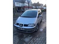 7 Seater - Seat Alhambra - Silver