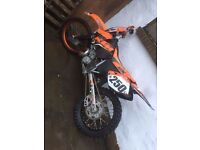 03 Ktm 250 for sale or swap for big roadbike