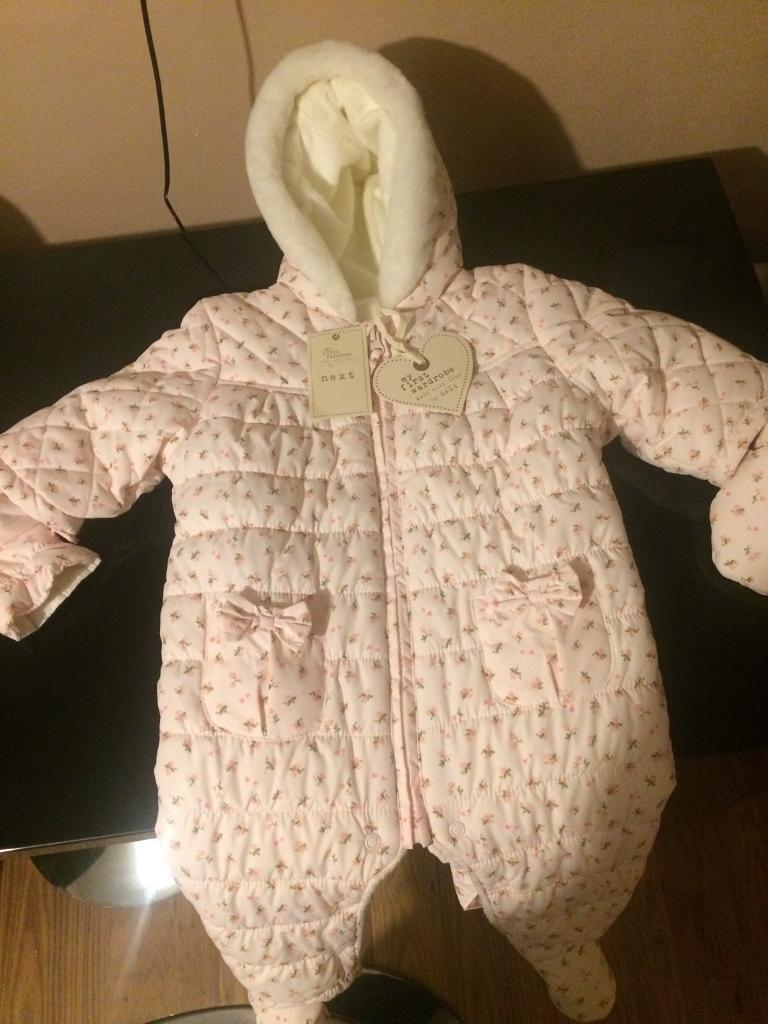 Girls all in one winter warmer suit ( NEXT )