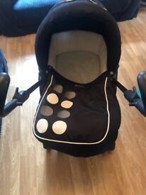 Babystyle travel system and bouncer chair