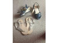 River island sandals and wedges
