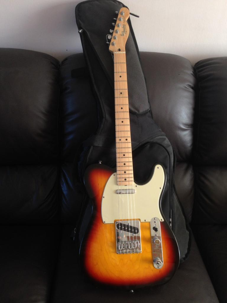 Fender Telecaster Tele Mexican Standard Electric Guitar