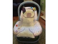Mamas and Papas Timbuktales rocking chair and changing mat.