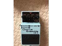 Boss Chorus Ensemble (CE-5) guitar pedal
