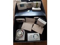 Room thermostats allsorts of makes and models