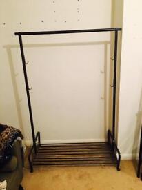 Sturdy dress rails wardrobe storage