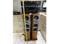 Best Pioneer system with Massive big speakers amp Cd player remote-controls