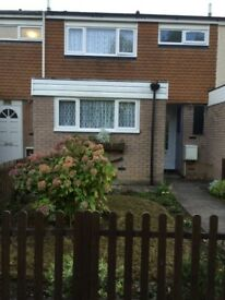 Three Bedroom Unfurnished Terraced House for Rent in Willowfield Telford TF7