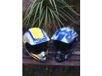 2 Dirt Bike / Quad Bike Helmets