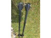 REDUCED - Roof bars/fittings for Audi A6