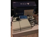 PlayStation 4 500GB with original boxes and leads and controller and games