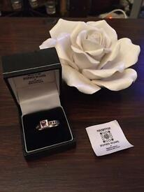 Mackintosh Ring with Stone