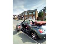 2005 flint vw beetle. Convertible.