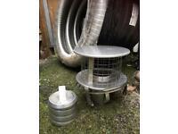Chimney liner for woodburner