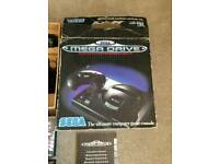 Complete boxed Megadrive with 6 games