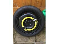 Brand new vw golf spare tyre
