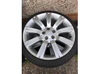 Vw transporter t5 Stormer alloys with tyres