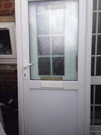 upvc front door with 3 keys £40