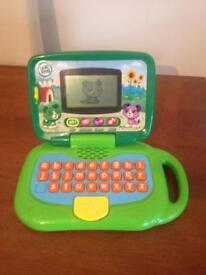 Genuine leap frog laptop leaptop alphabet games nursery rhymes pick up from kessingland