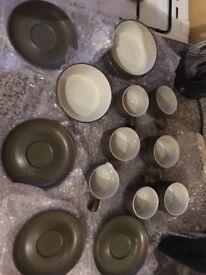 Denby Chevron pottery - various pieces
