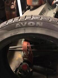 Winter tyres 225/45/17