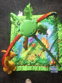 Fisher price rainforest play gym - Excellent condition