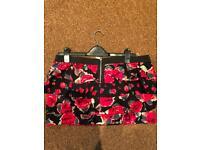 River island mini skirt size 16