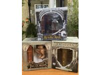 Lord Of The Rings Ltd Edition Collectable DVD Figure Box Sets
