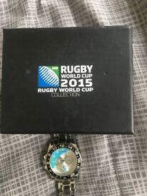 Rugby World Cup collecter watch