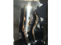 Genuine Suzuki Bandit 600 1999 Exhaust Silencer Rear Can & Link Pipe