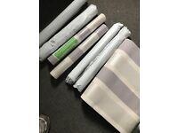 7 roll silver wallpaper **£20**
