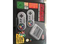 Snes mini classic (Super Nintendo classic)
