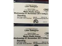 2 Standing Tickets Liam Gallagher Newcastle