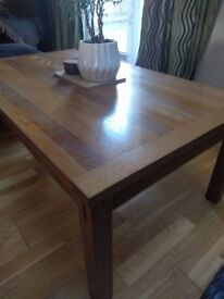 Solid wood coffee table £25