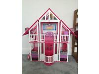 Barbie Dolls House - £40 - collection only