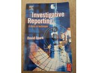 Investigative Reporting: A study in technique by David Spark (Paperback, 1999)