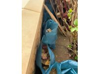 Free rubble and bricks for building work and landscaping, London SE4